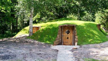 Une soir e originale dans un kota grill finlandais a drache en nord - Maison de hobbit a louer ...